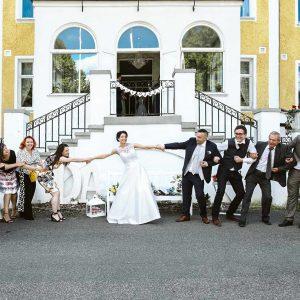 familiares, boda Suecia