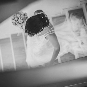 escalera novia