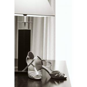 blanco negro zapatos