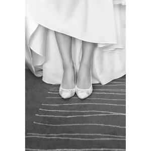 vestido zapatos