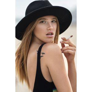 hat fashion fumar